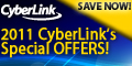 2011 CyberLink Video editing discounts
