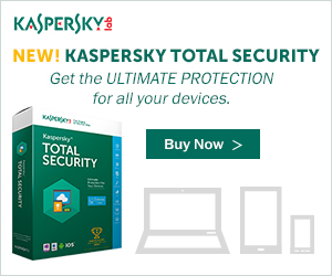 $20 OFF NEW Kaspersky PURE 3.0 Total Security + FREE H&R Block at Home