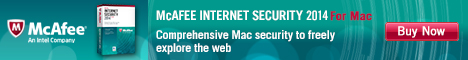 McAfee Internet Security for Mac!